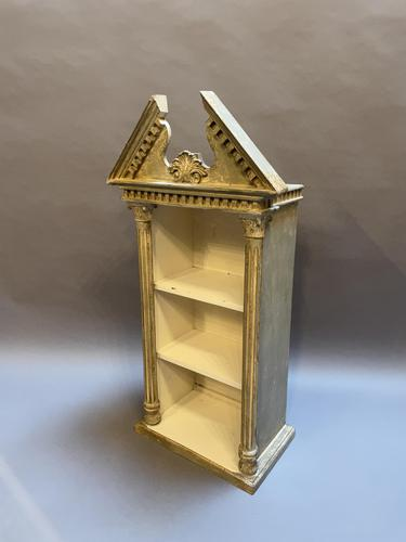 Italianate Painted Bookcase Shelf (1 of 7)