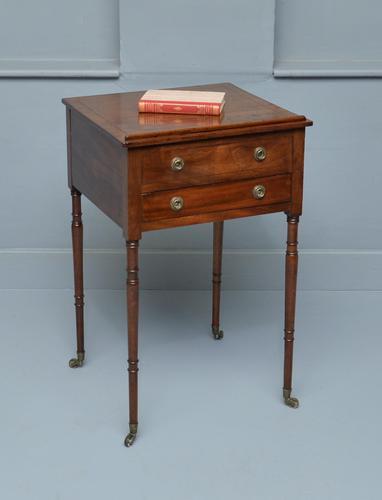 Regency Mahogany Adjustable Reading Side Lamp Table (1 of 11)