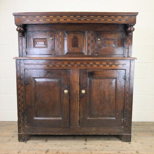 17th Century Welsh Oak Cwpwrdd Deuddarn (1 of 10)