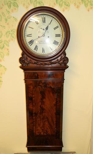 Mahogany Tavern Clock / Wall Clock (1 of 8)