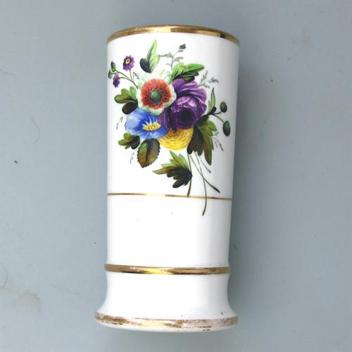 Regency Spode Porcelain Hand Painted Spill Vase Pat 1943 c.1810 (1 of 5)