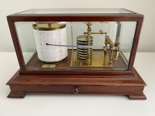 Barograph by C. Werner, Melbourne (1 of 4)