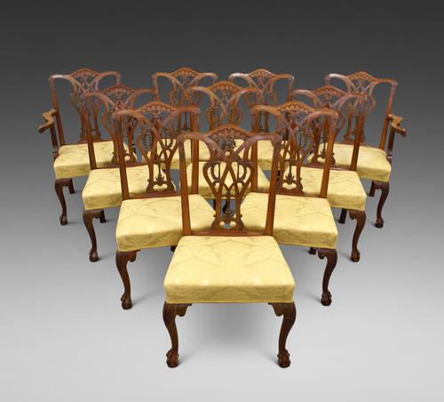 A superb set of 10 dining chairs (1 of 6)