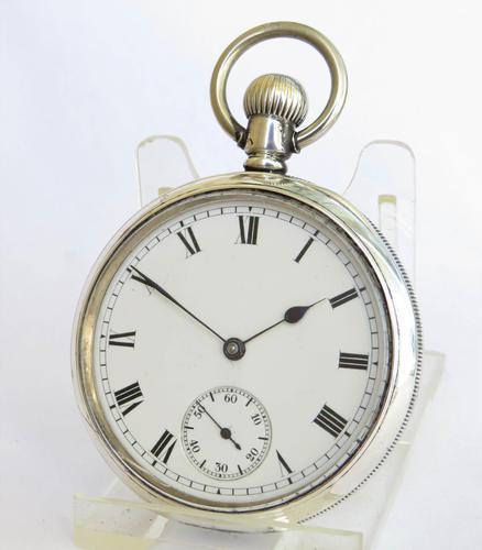 Antique Silver Waltham Pocket Watch 1912 (1 of 4)