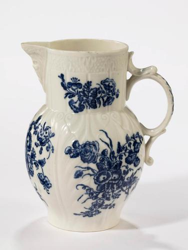 Late 18th Century Caughley Porcelain Jug (1 of 4)