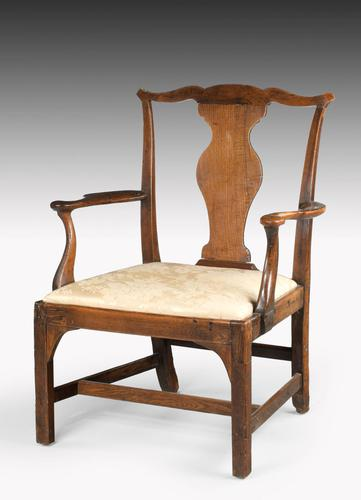 Mid 18th Century Elbow Chair (1 of 7)