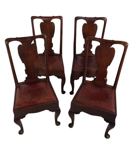 Four Oak and Elm Chairs (1 of 5)