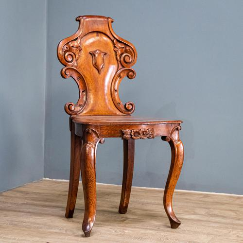 Victorian Carved Back Chair (1 of 9)