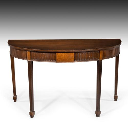 Fine Regency Period Demi-lune Pier Table (1 of 5)