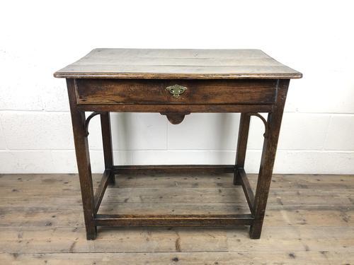 18th Century Oak Side Table (1 of 14)
