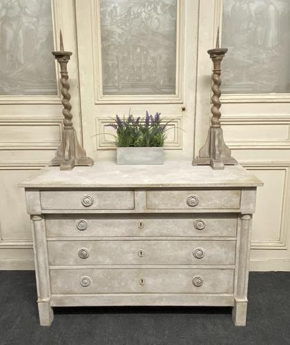 French Empire Chest of Drawers (1 of 24)