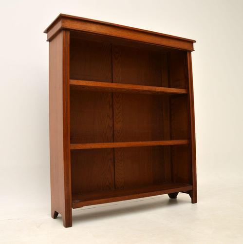 Antique  Victorian Walnut Open Bookcase (1 of 11)