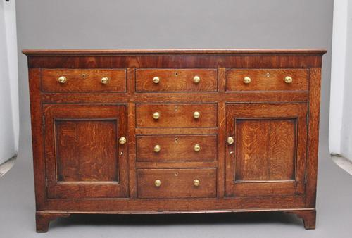 18th Century Country Oak Dresser Base (1 of 11)