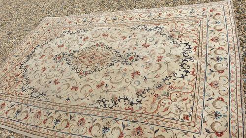 Beautiful Period Kashan Carpet (1 of 7)