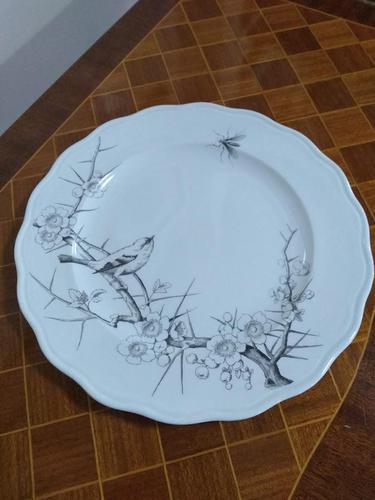 Staffordshire Bird Plate (1 of 5)