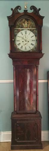 19th Century Mahogany Longcase Clock (1 of 9)