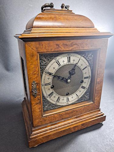 19th Century Walnut Mantle Clock (1 of 6)
