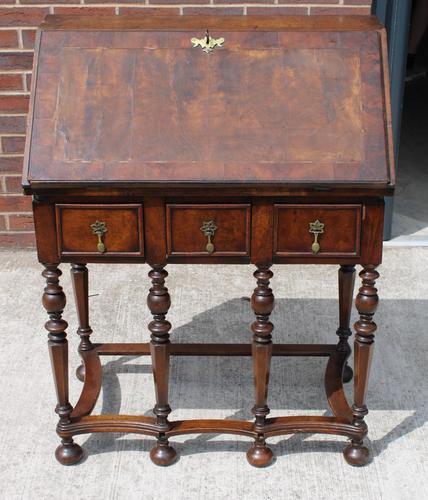1850s Early Style Walnut Bureau (1 of 7)