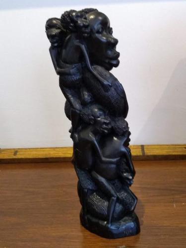 East African Makombi Tribe Family Tree Carving (1 of 6)