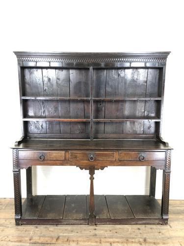 Antique 18th Century Welsh Oak Pot Board Dresser (1 of 26)