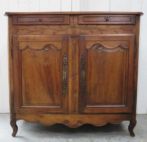 Antique Fruitwood Buffet Sideboard (1 of 13)