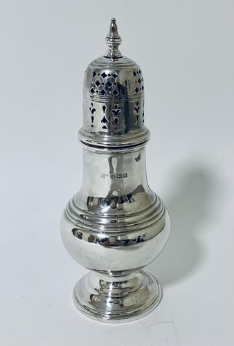 Antique Solid Sterling Silver Sugar Caster (1 of 11)