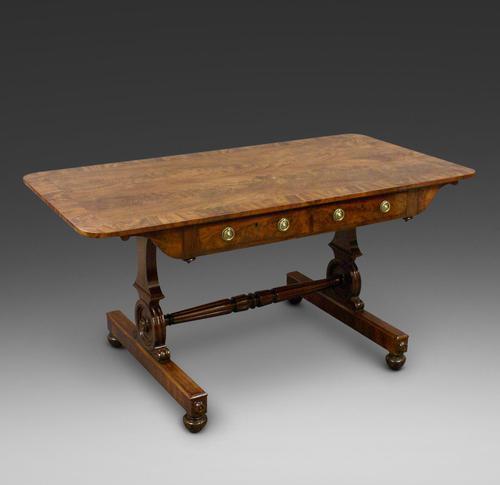 Flame Mahogany Sofa Table (1 of 6)