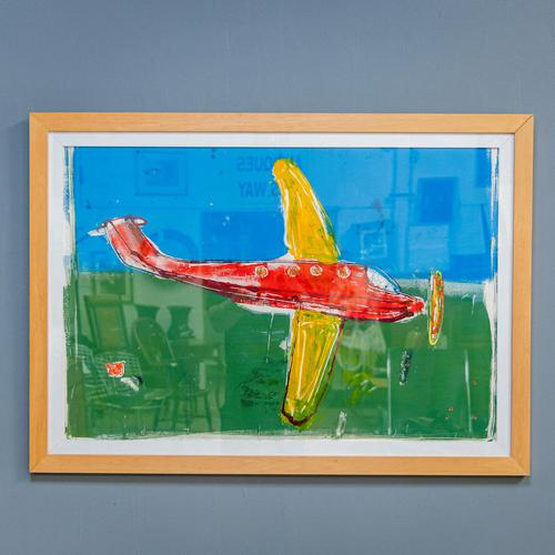 John Kiki Acrylic Painting (1 of 10)