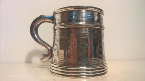 Victorian Tankard with Glass Bottom (1 of 7)