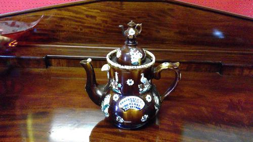 Measham Ware Teapot (1 of 4)