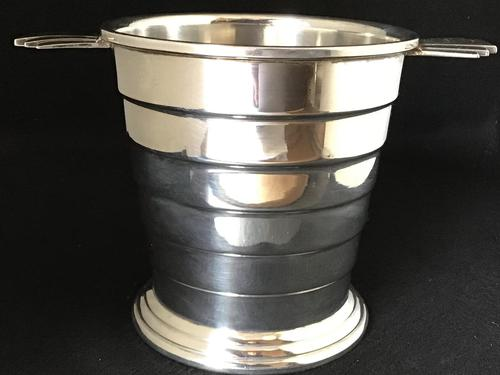 Art Deco Silver Plated Ice / Wine / Champagne Bucket (1 of 5)