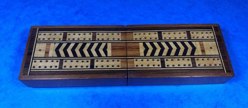 Victorian Inlaid Mahogany Crib  Box (1 of 20)