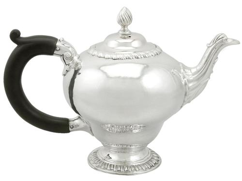 Sterling Silver Teapot - Antique George III (1 of 9)