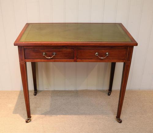 Edwardian Mahogany Writing Desk (1 of 6)
