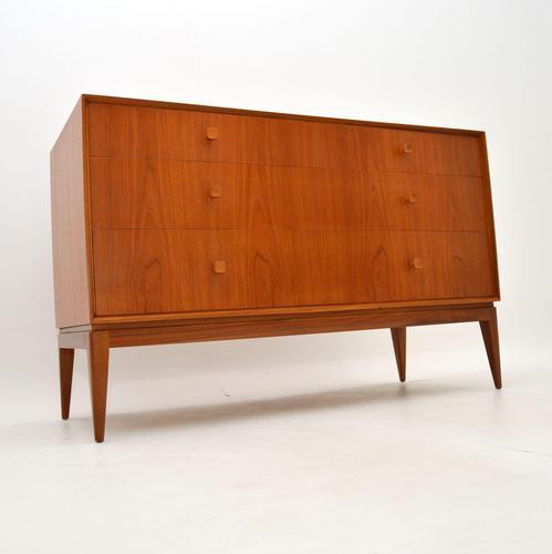 1960's Teak Vintage Chest of Drawers / Dresser (1 of 11)