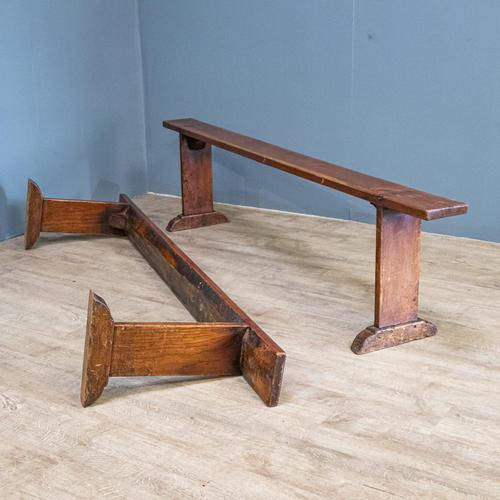 Pair of Cherrywood Benches (1 of 13)