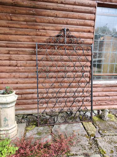 Antique Wrought Iron Garden Gate (1 of 5)