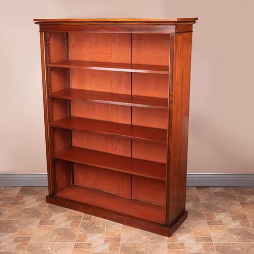 Large Mahogany Bookcase (1 of 6)