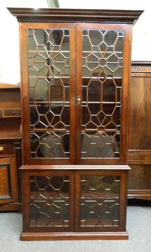 Large Mahogany Cabinet (1 of 6)