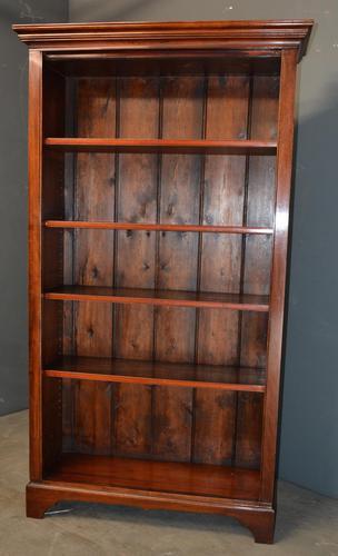Victorian Mahogany Open Bookcase (1 of 4)