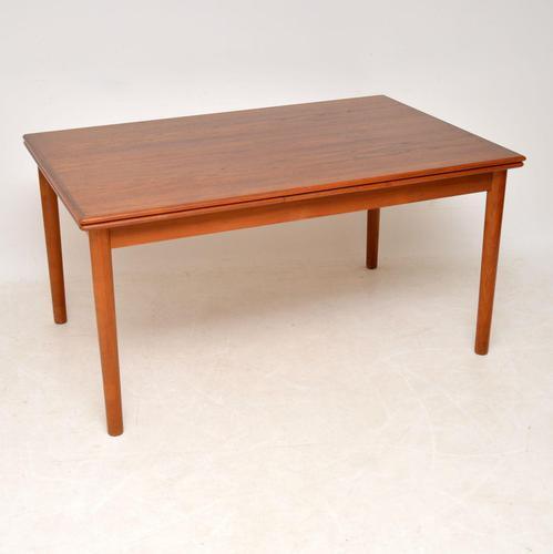 1960's Danish Teak Vintage Dining Table (1 of 8)