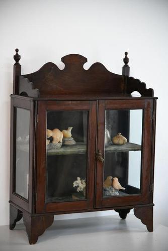 Vintage Wall Mount Glazed Cabinet (1 of 9)