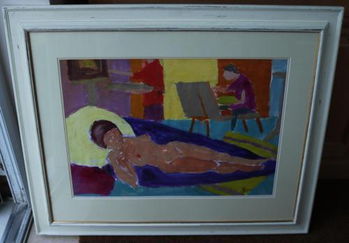 Reclining Nude by Akos Biro (1 of 7)