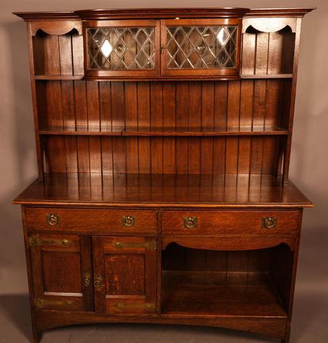 Arts & Crafts Dresser in Oak (1 of 13)