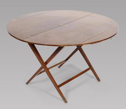 Victorian Mahogany Coaching / Campaign Table (1 of 3)