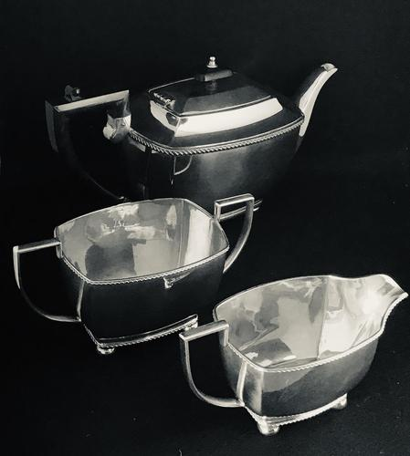 Vintage Silver Plated 3 Piece Tea Set (1 of 4)