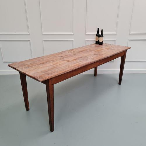 Antique French Farmhouse Table c1840 (1 of 6)