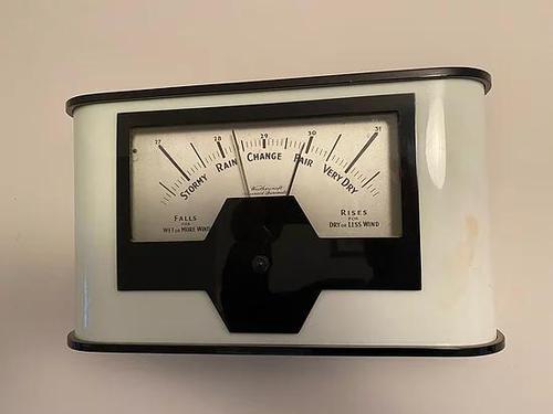 Art Deco Wall Barometer (1 of 3)