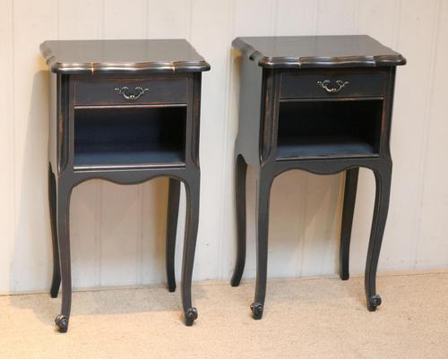 Pair of Painted Bedside Cabinets (1 of 9)