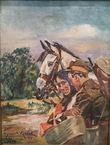 Stunning Oil Painting by Wojciech Kossak (1 of 4)